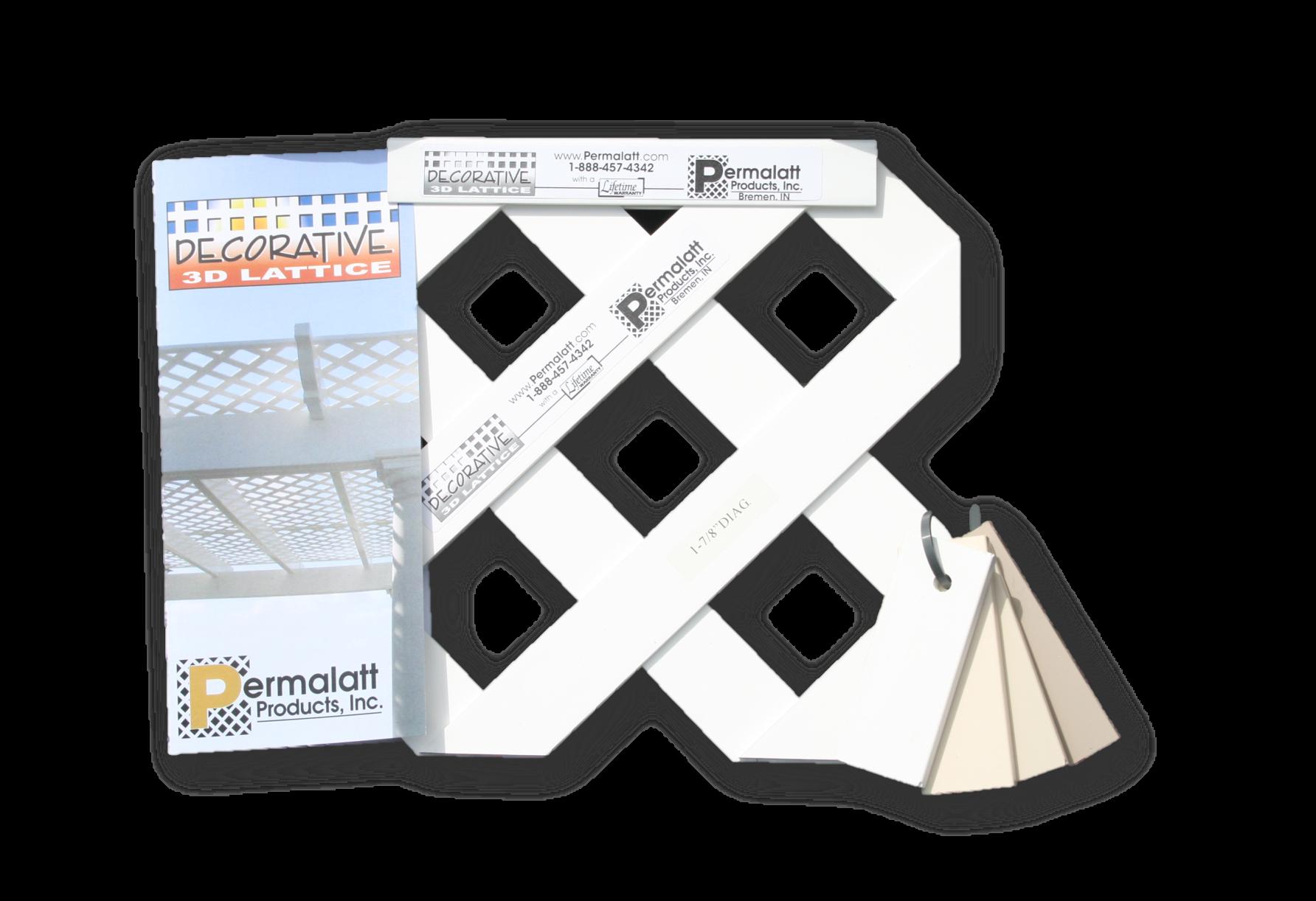 Permalatt Decorative Sample Kit