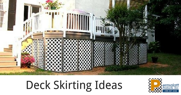 Using Lattice Skirting For Your Deck?