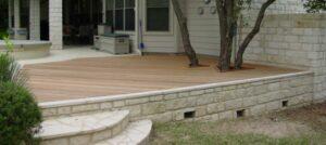 Brick Deck Skirting