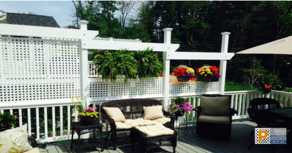 Deck Privacy Install
